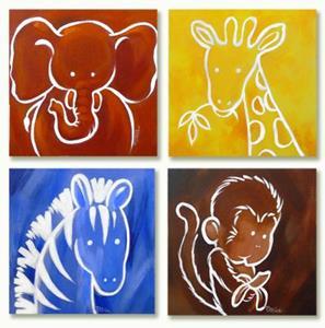 Detail Image for art Gerome Giraffe