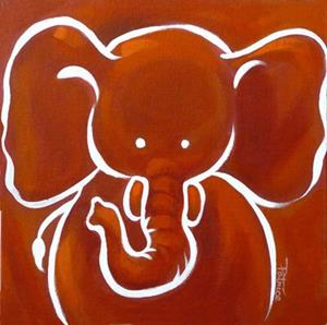 Detail Image for art Nursery Zoo Animals Series