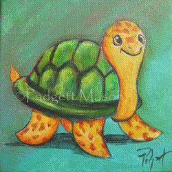 Art: Slow & Steady by Artist Padgett Mason