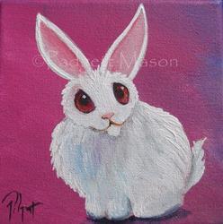 Art: A Little Fluff SOLD by Artist Padgett Mason
