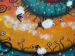 Detail Image for art Bo Peep Daydreams