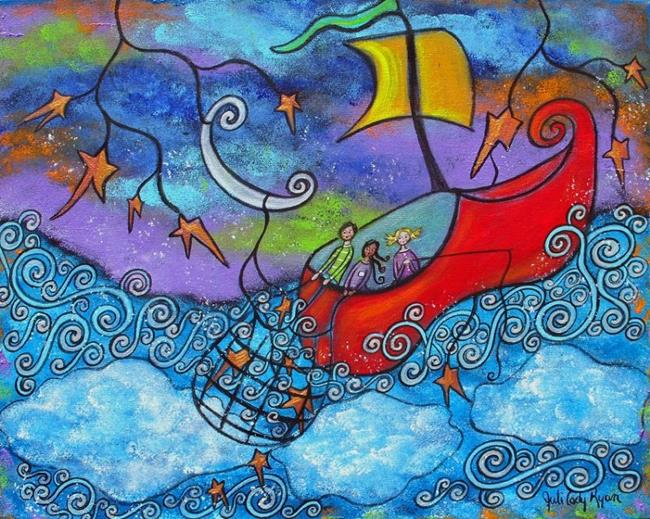 Art: In The Land Of Nod by Artist Juli Cady Ryan