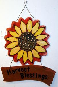 Detail Image for art HARVEST BLESSINGS for your home