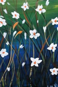 Detail Image for art DAISIES AND GRASS