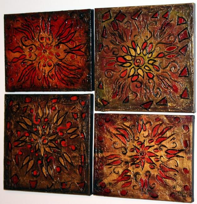 Art: CHRISTMAS WINDOWS by Artist LUIZA VIZOLI