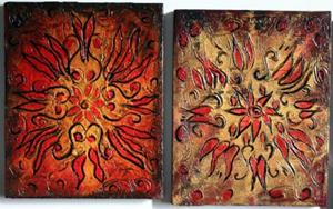 Detail Image for art CHRISTMAS WINDOWS