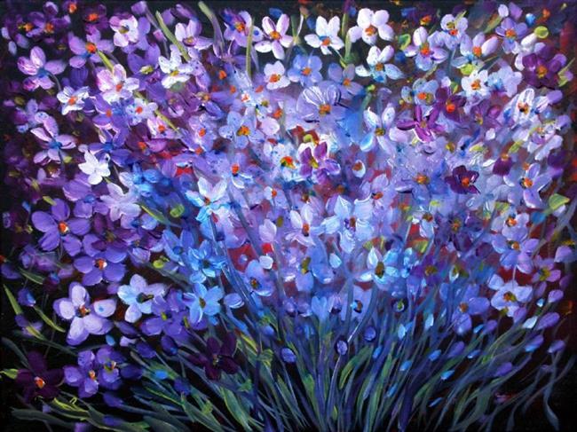beautiful flowers  by luiza vizoli from abstract representational, Beautiful flower