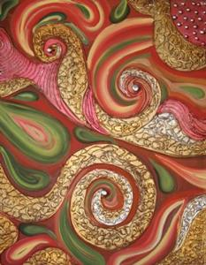 Detail Image for art DREAMCATCHER 54X28 TRIPTYCH ART