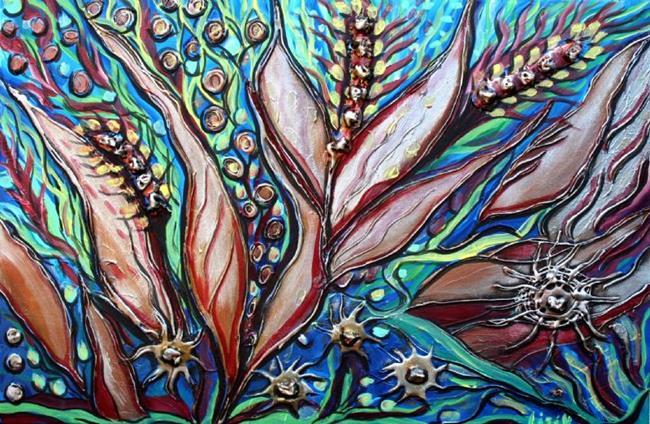 Art: THE OCEAN FLOWERS by Artist LUIZA VIZOLI