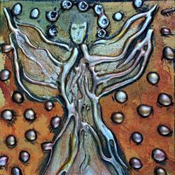 Art: BUTTERFLY ANGEL  by LUIZA VIZOLI