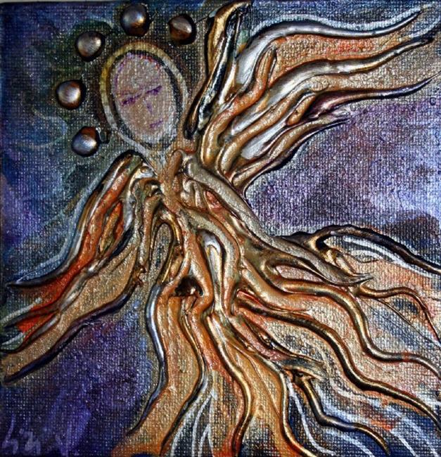 Art: SUMMER ANGEL by Artist LUIZA VIZOLI