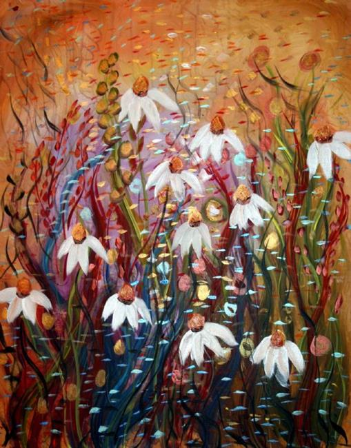 Art: BEAUTIFUL GARDEN by Artist LUIZA VIZOLI
