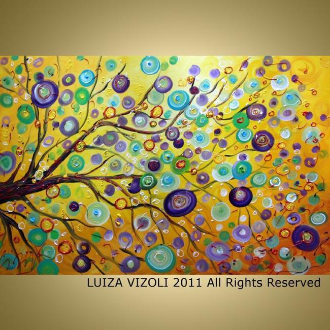 Art: SUN KISSES by Artist LUIZA VIZOLI