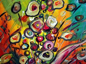 Detail Image for art COLORFUL BOUQUET