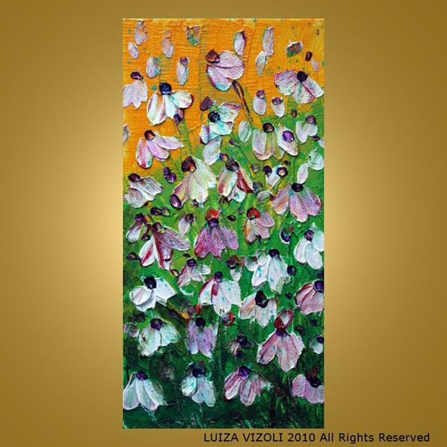 Art: FLOWERS FIELD by Artist LUIZA VIZOLI