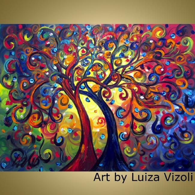 Art: Engaged Couple by Artist LUIZA VIZOLI