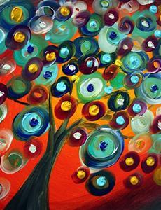 Detail Image for art sunset tree.jpg