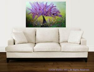 Detail Image for art LILAC TREE