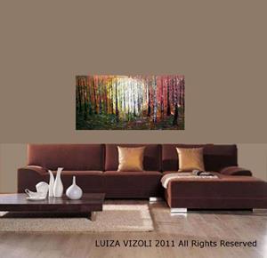 Detail Image for art Sunset Forest