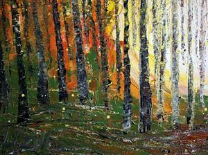 Detail Image for art Sunset Forest