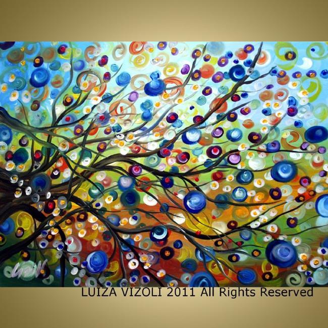 Art: SUMMER WIND by Artist LUIZA VIZOLI