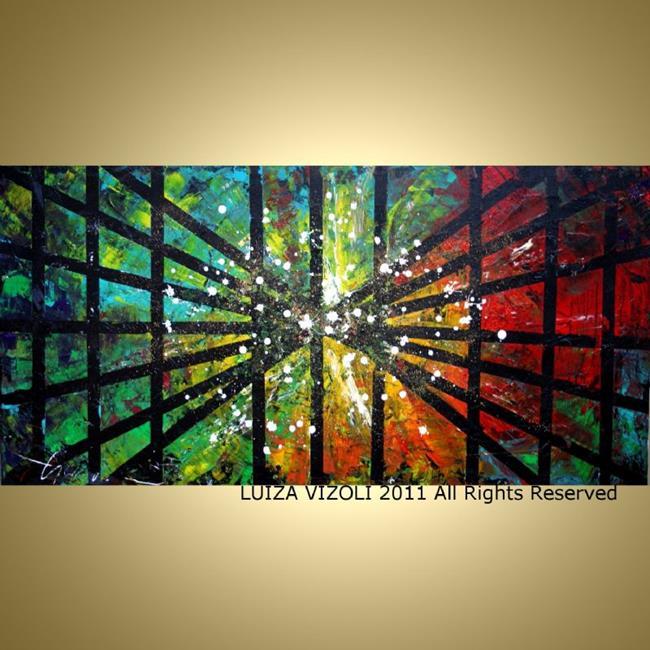 Art: THE LIGHT by Artist LUIZA VIZOLI