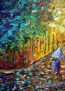 Detail Image for art COLORFUL RAIN