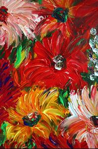 Detail Image for art DAHLIA FLOWERS