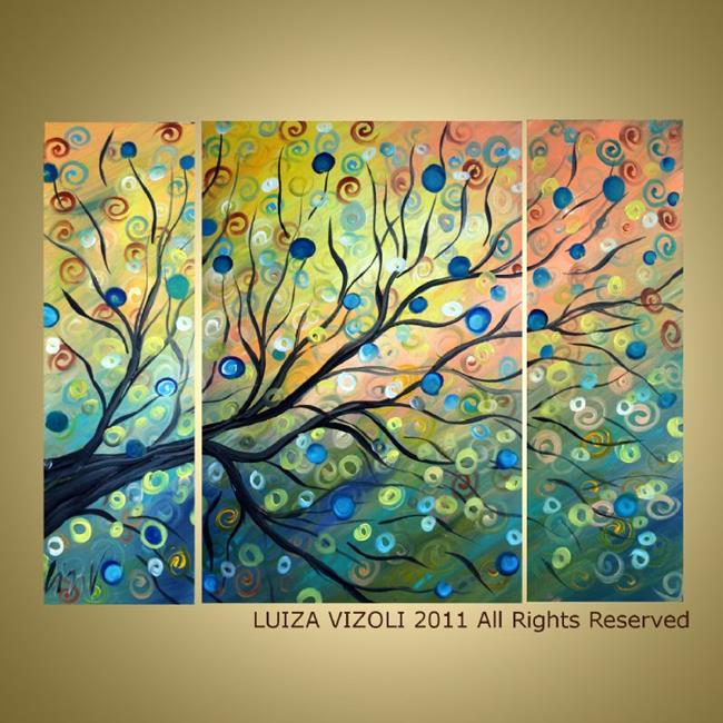 Art: Summer Tree by Artist LUIZA VIZOLI
