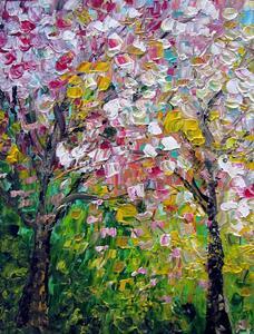 Detail Image for art CHERRY TREES