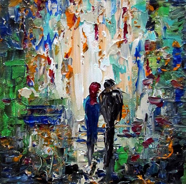 Art: WALK in the PARK WITH YOU by Artist LUIZA VIZOLI