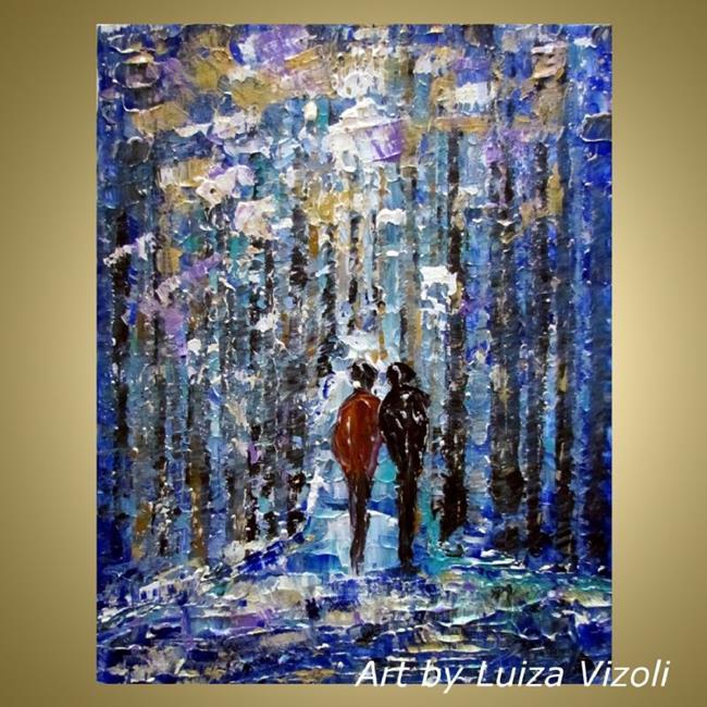 Art: WINTER PARK by Artist LUIZA VIZOLI