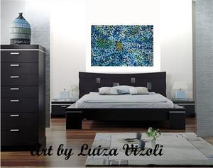 Detail Image for art BLUE PETALS