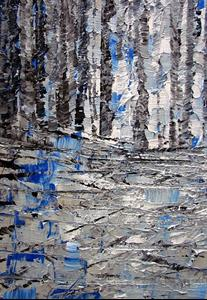Detail Image for art SILVER WOODS