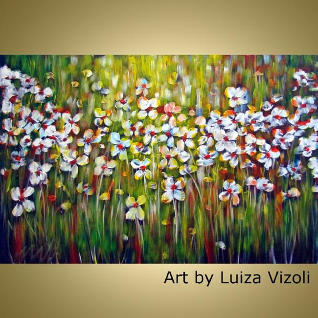 grass and flowers  by luiza vizoli from abstract representational, Beautiful flower