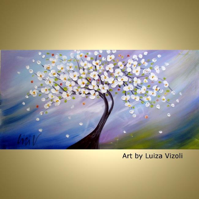 Art: ALMOND TREE by Artist LUIZA VIZOLI