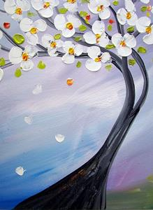 Detail Image for art ALMOND TREE