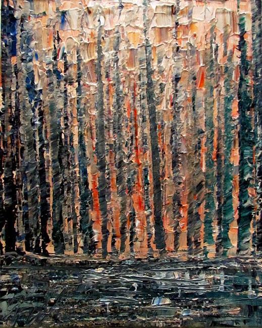 Art: FOREST PASTEL by Artist LUIZA VIZOLI
