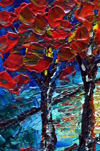 Detail Image for art OUR RED TREES
