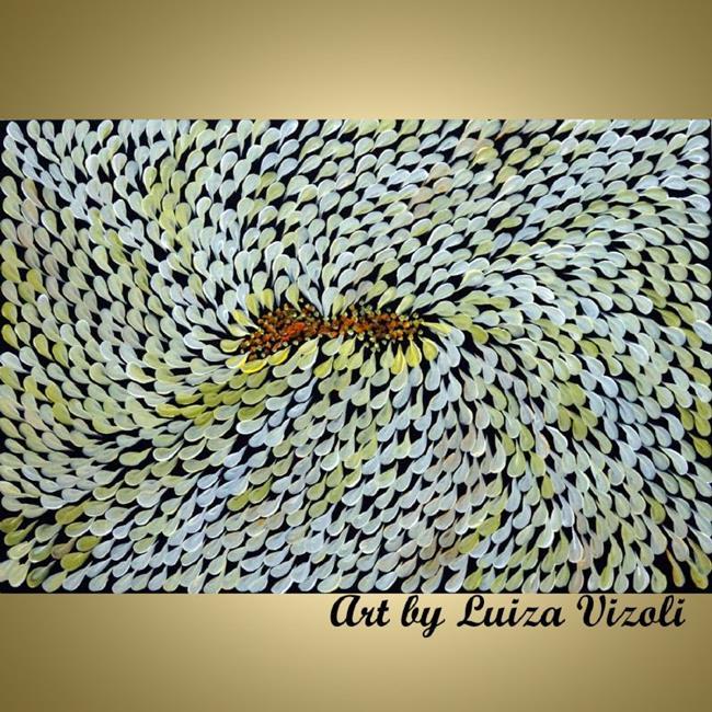 Art: DAISY FLOWER by Artist LUIZA VIZOLI