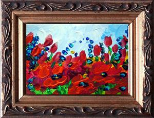 Detail Image for art SPRING RED FLOWERS