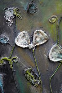 Detail Image for art Shabby Chic Flowers