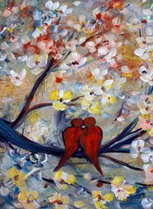 Detail Image for art LOVEBIRDS