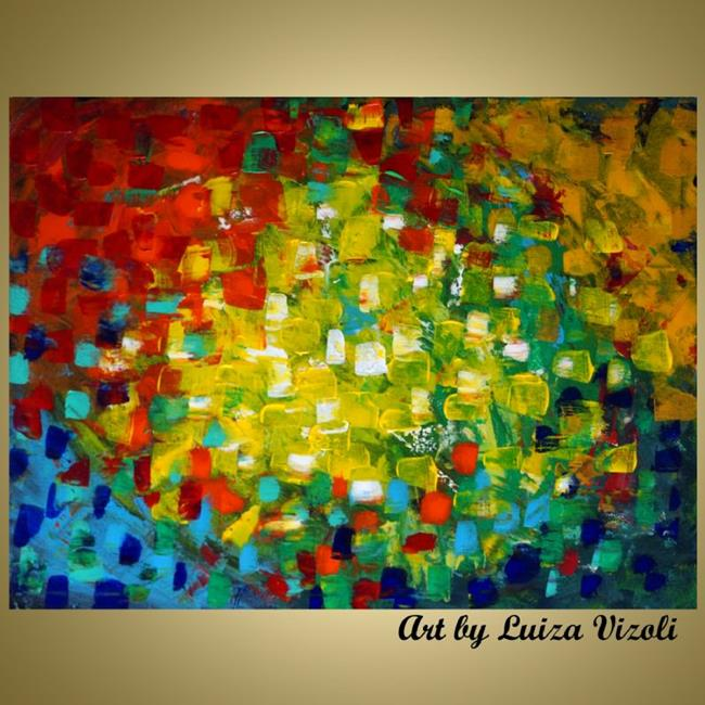 Colors of the seasons by luiza vizoli from abstract for Original modern art for sale