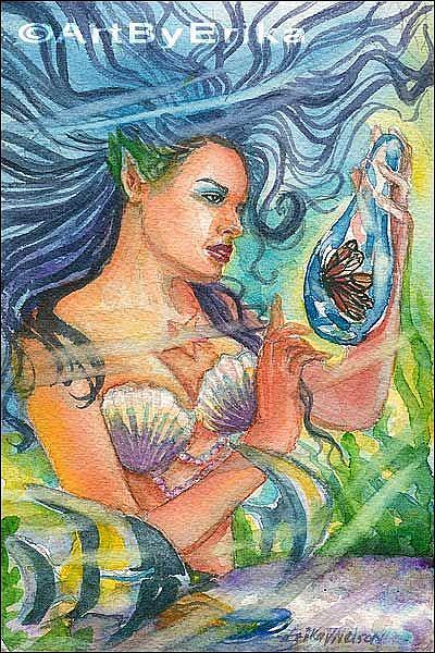 Art: Heart's Desire by Artist Erika Nelson