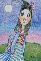 Art: Purity - Throat Chakra by Artist Sherry Key