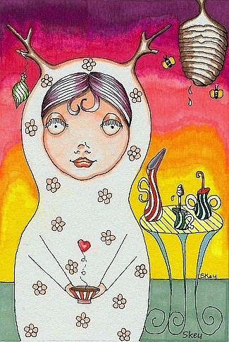 Art: Sweet As Sugar-Sold by Artist Sherry Key