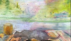 Detail Image for art Little Cat Feet