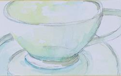 Art: Cup No.2 by Artist Delilah Smith