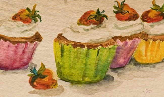 Art: Cupcakes by Artist Delilah Smith